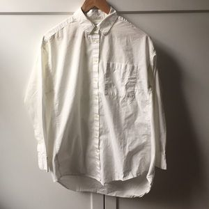 Madewell Oversized Button Down Shirt